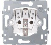 Niko Mechanisms Wandcontactdoos Inbouw (stucwerk) RA 1V KV Roestvaststaal ( RVS ) 170-34400