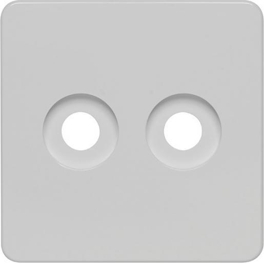 Peha afdekking met knop tbv duo dimmer levend wit