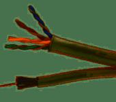 Combikabel Coax & UTP tbv buis 16mm