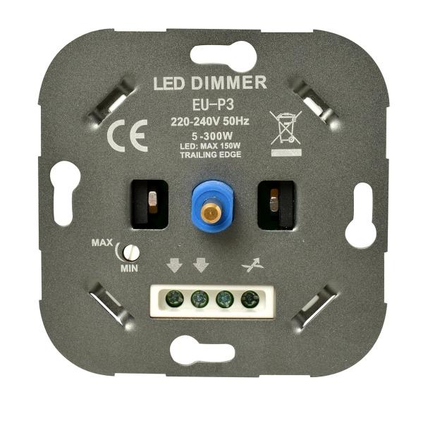 Ratio LED inbouwdimmer 150W voor alle merken schakelmateriaal