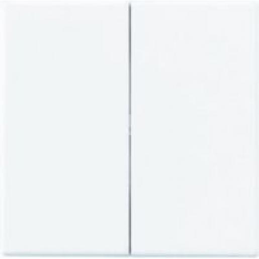 Jung A range bedieningselement aan-/uit-schakelaar tweedelige wip wit a595ww