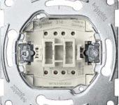 Merten Drukcontact maak 1-pol basis MTN3150-0000