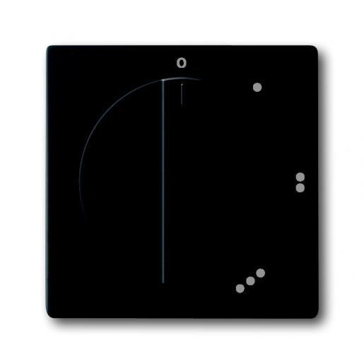 Busch-Jaeger Busch-Balance SI bedieningselement Standenschakelaar Draaigreep zwart mat 2542 DR/01-885
