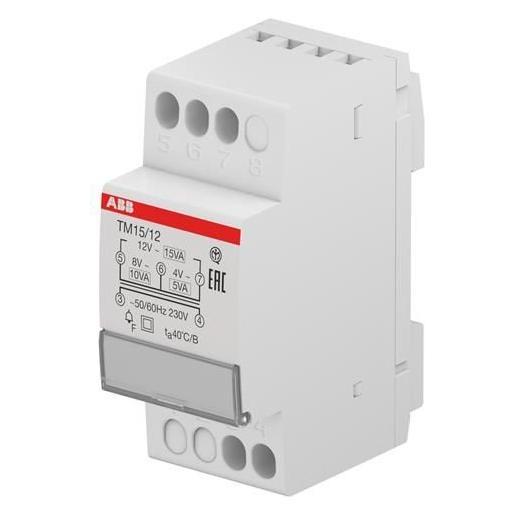 ABB veiligheidstrafo 12-24V 10VA 3 modules