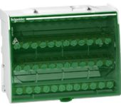 Schneider Electric VERDEELBLOK 4P 125A 4X12 AANSLUITINGEN