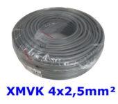 Waskonig XMVK Eca lichte installatiekabel 4G2,5mm² Grijs