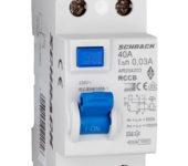 Aardlekschakelaar AMPARO 2P 40A 30MA 10kA Type: A