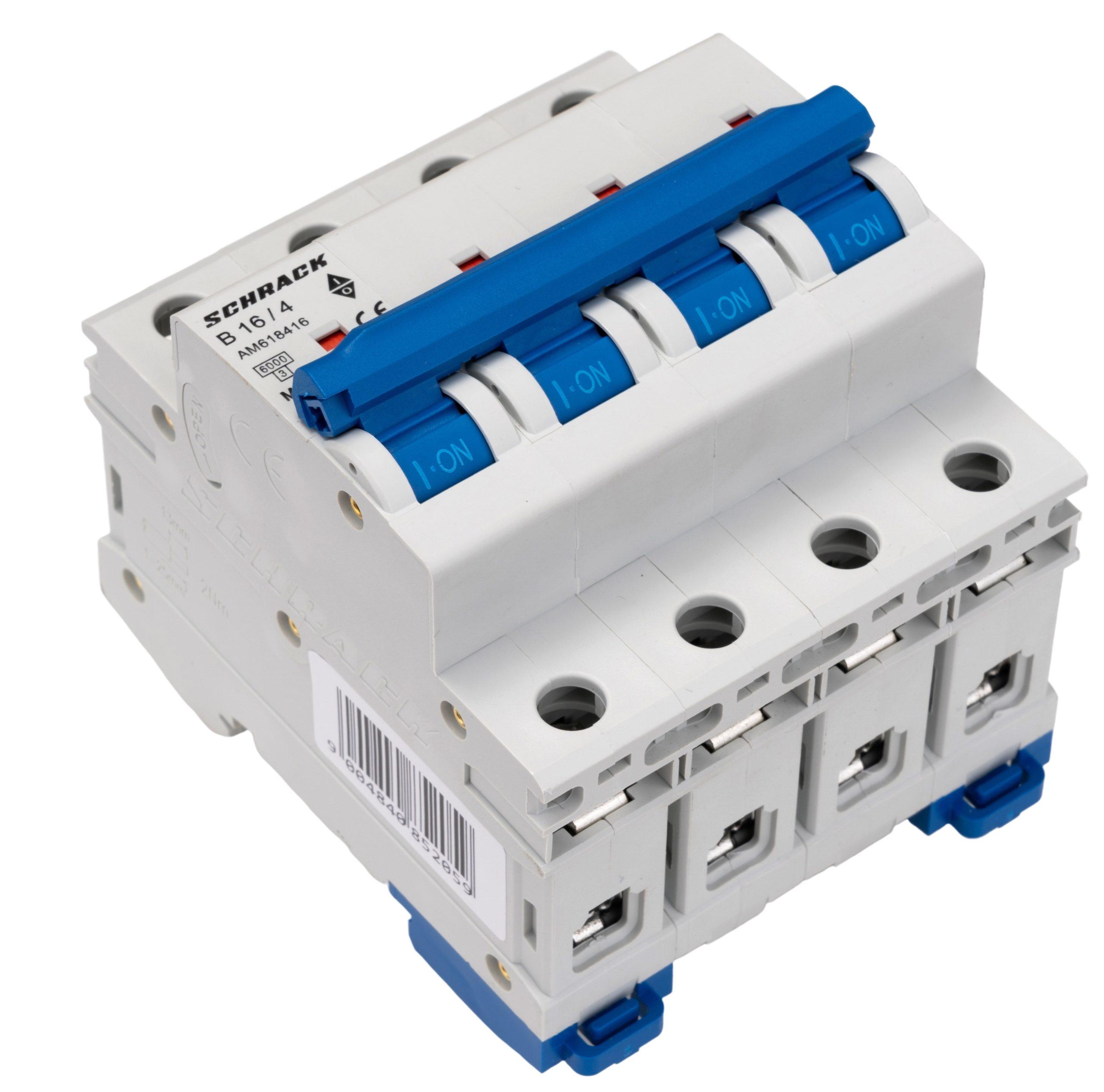 Installatie-krachtautomaat AMPARO 4P B16A 6kA