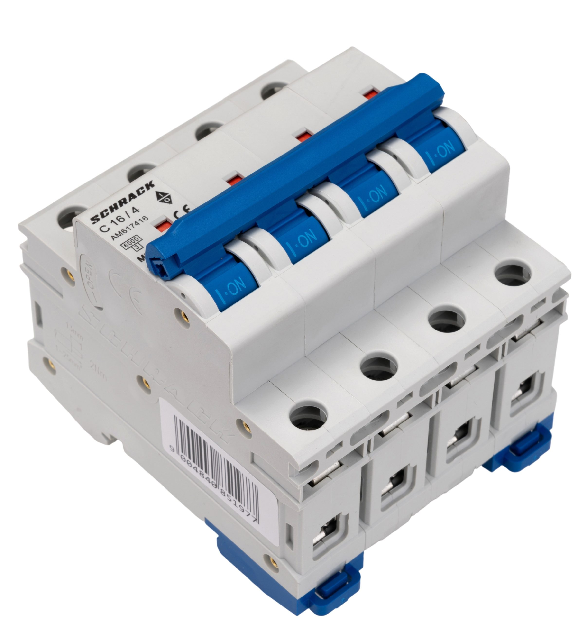 Installatie-krachtautomaat AMPARO 4P C16A 6kA