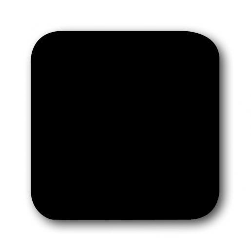 Busch-Jaeger Reflex SI Zwart wissel toets 2506-215