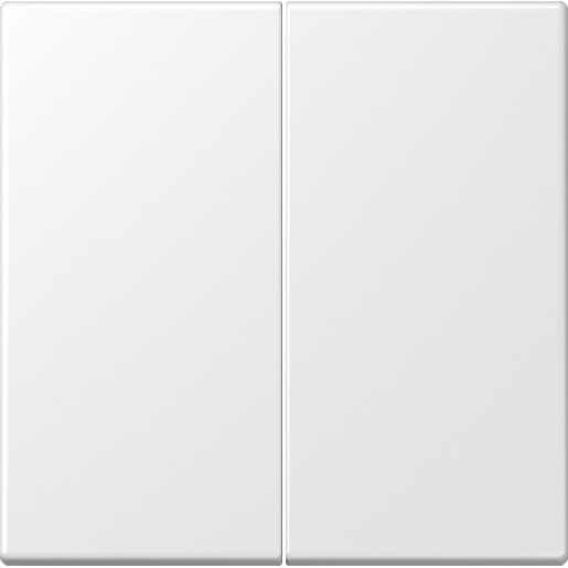 Jung LS995WWM bedieningswip voor serie en wissel/wissel mat sneeuwwit