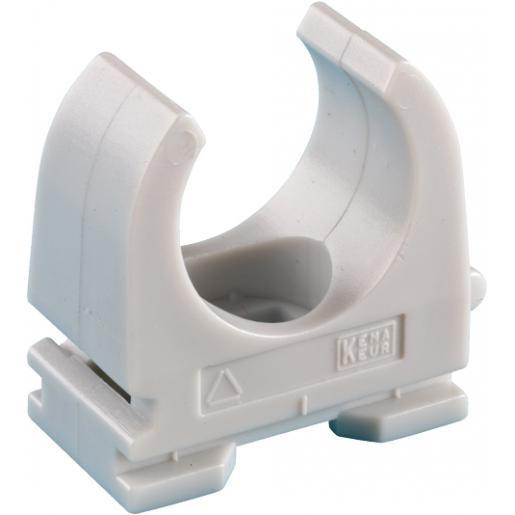JMV Opendrukzadel pp halogeenvrij 16mm.schroefgat 5mm grijs 9300318